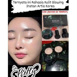 Putih Glowing Instan Sunisa Original 1000% 4in1 Foundation Concealer Moisturizer Sunscreen thumbnail