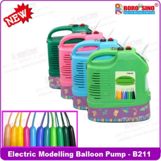 POMPA BALON ELEKTRIK TWIST / POMPA BALON LISTRIK CACING PANJANG TWIST / ELECTRIC PUMP | Shopee Indonesia