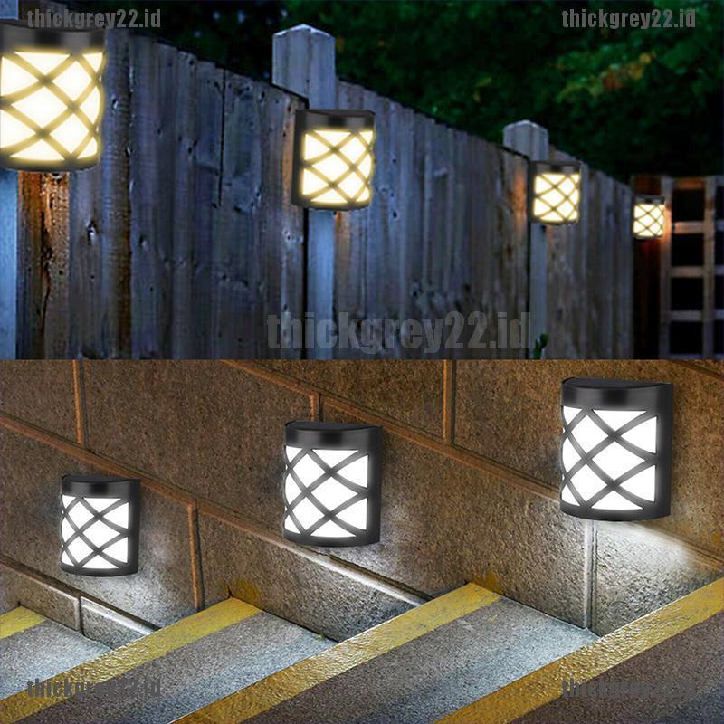 Ic Waterproof Led Solar Light Motion Sensor Wall Light Outdoor Garden Yard La Shopee Indonesia