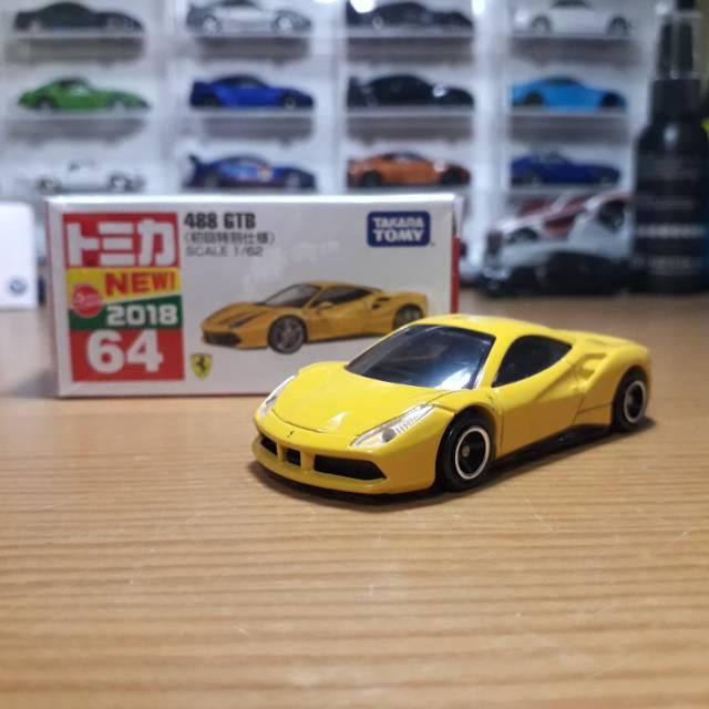 Tomica Ferrari 488 Gtb Yellow Shopee Indonesia