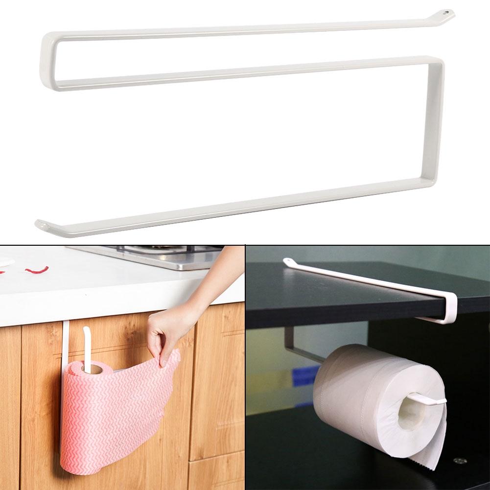 New Storage Rack Paper Hanger Towel Kitchen Under Cupboard Roll Holder Kitchen 1