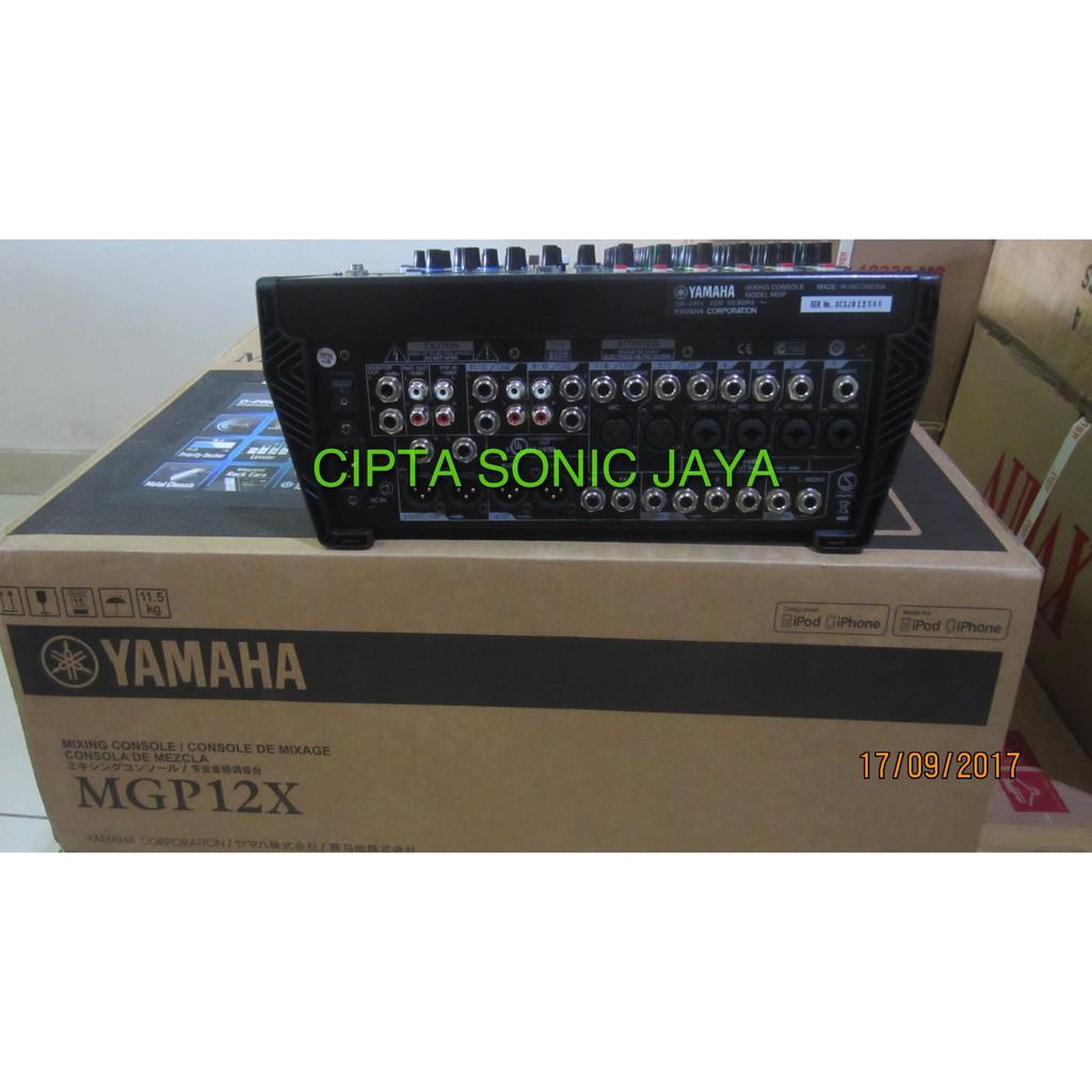 Mixer Yamaha Mgp 12x 12 Channel Original Shopee Indonesia Mgp12x