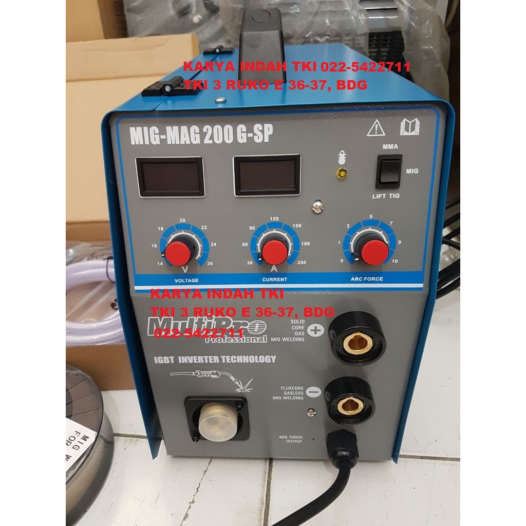 Multipro Travo Mesin Las Listrik 450 Watt Inverter 2in1 Tig Argon 450watt Eg 120a Sc Igbt Mma 200 A Sa 200a Shopee Indonesia