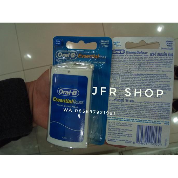 benang gigi oral b essential floss  74b35eef6b