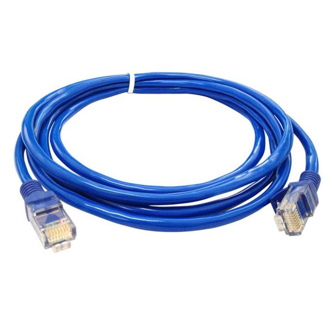 kabel lan utp 10m rj45 cat 5e 10 meter terpasang cable konektor cat5e pabrikan siap pakai. Black Bedroom Furniture Sets. Home Design Ideas