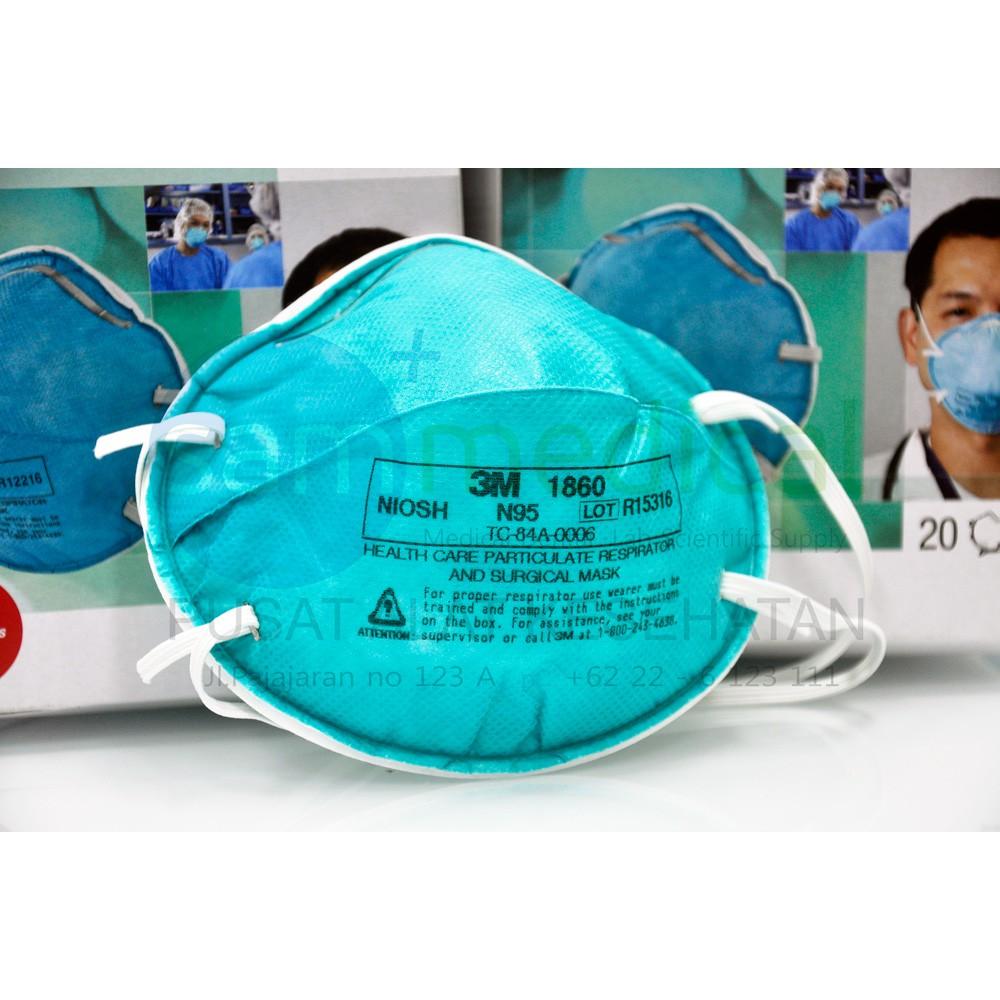3m 1860s medical mask n95