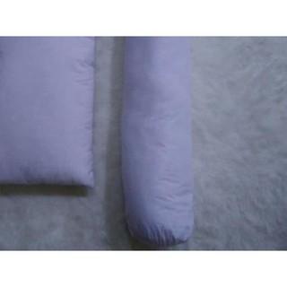 1 SET Bantal Tidur dan Guling Silikon Polyster Fiber Standar Hotel .,,.,