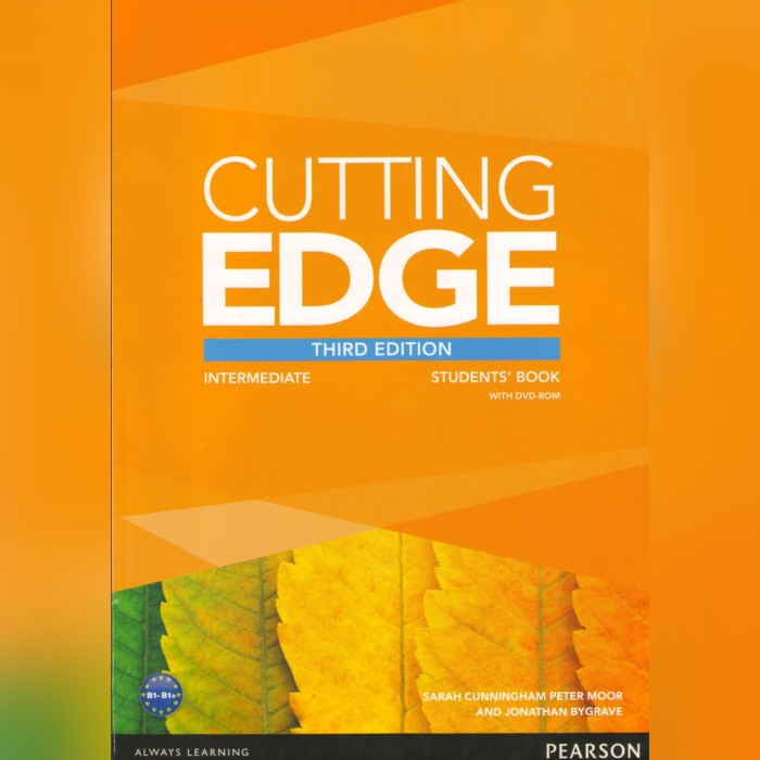 Buku Pearson Cutting Edge Intermediate 3rd Edition Bk209 Shopee Indonesia