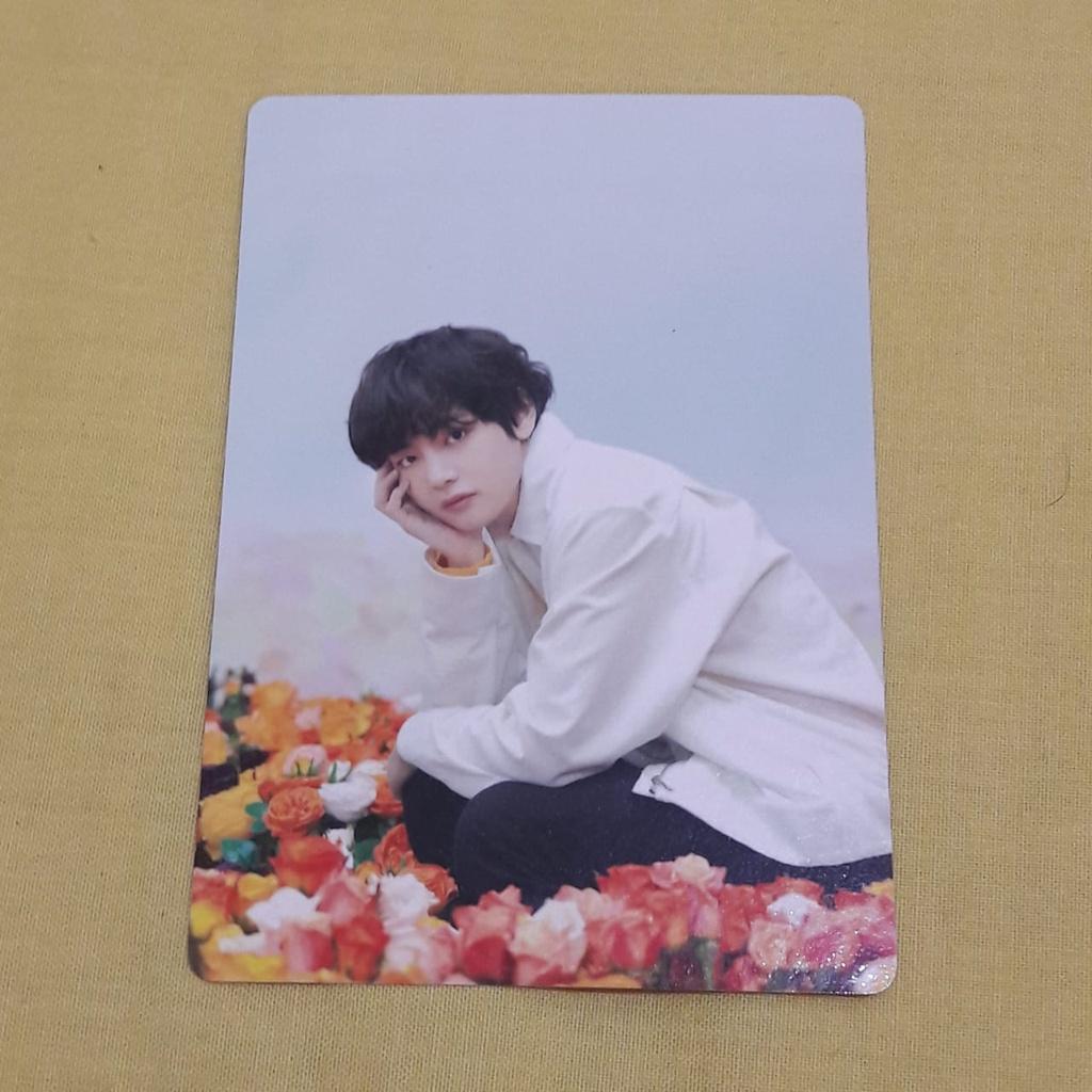 MPC Taehyung BTS Love Yourself Japan Bunga Bunga   Shopee Indonesia