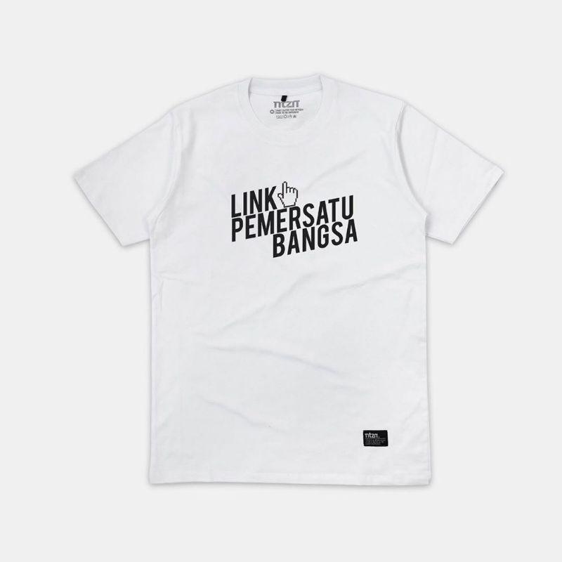 Kaos Custom Link Pemersatu Bangsa Custom Kata Shopee Indonesia