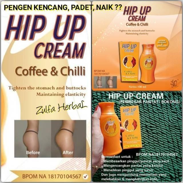 HIP UP CREAM ORIGINAL - KRIM Pembesar / Pengencang / Pengangkat Pantat / Bokong - HIP UP | Shopee Indonesia