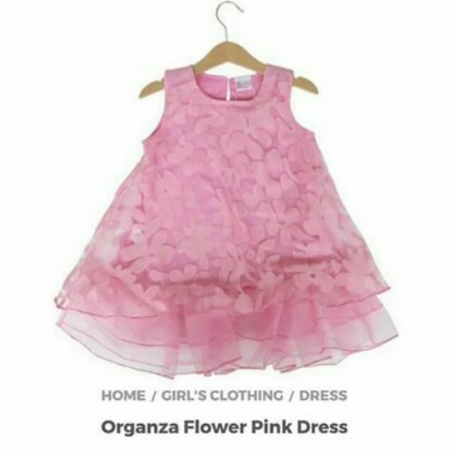 Organza Flower Dress HQ Baju Pesta Anak Perempuan Mewah Pakaian Bayi Premium Vintage Branded Murah | Shopee Indonesia