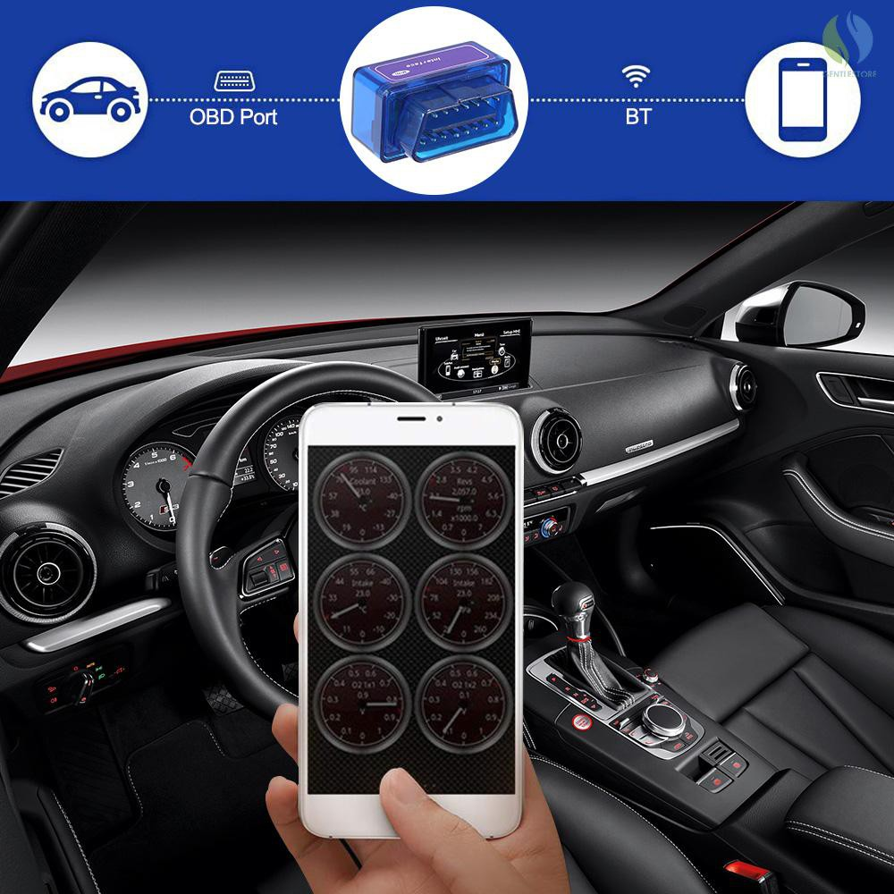 Acouto OBD2 OBDII CAN BUS Car Diagnostic Tool Auto Scanner Code Reader V03H2-1 Support All OBD2 Protocols