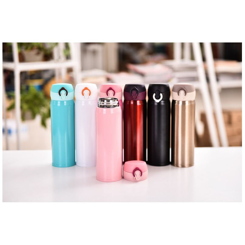 Botol Minum Termos Animal Stainless Steel 10 Motif 500 ML Random | Shopee Indonesia