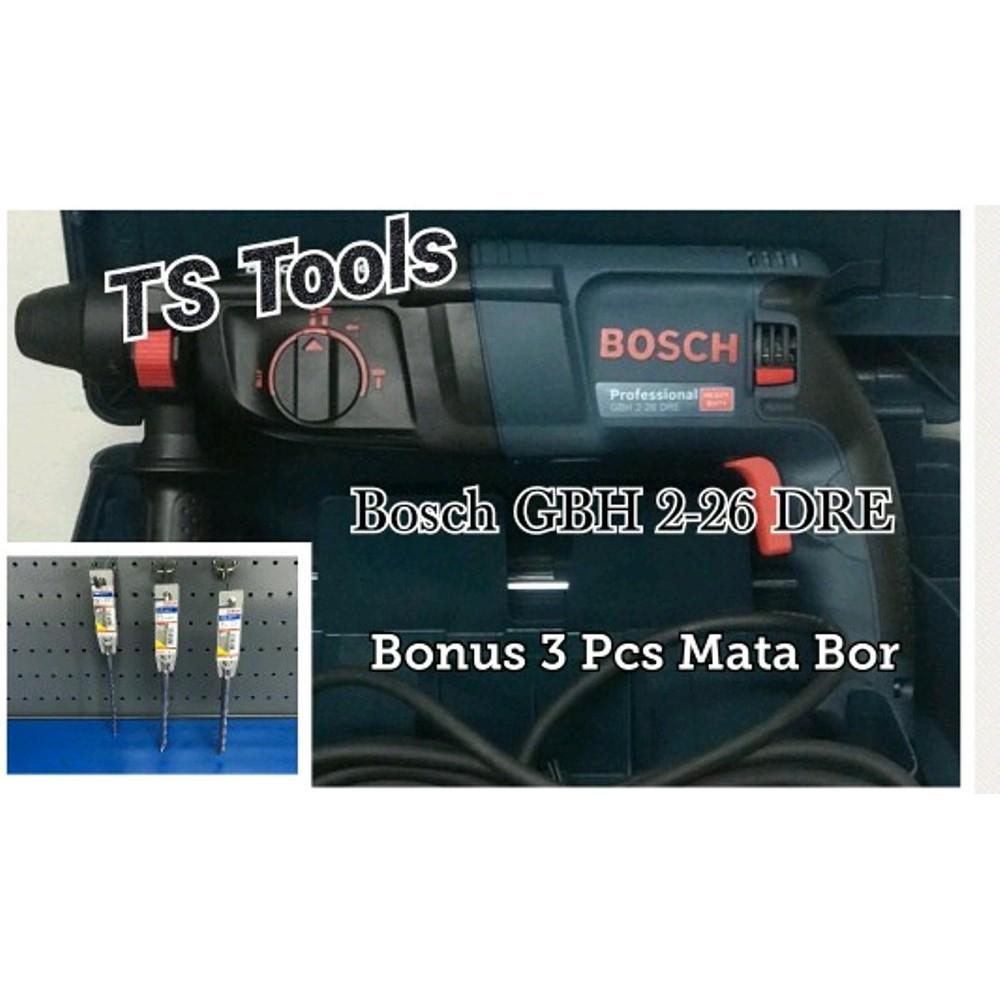 Mesin Bor Demoliton Rotary Hammer Bosch Gbh 2 20 Dre Daftar Update 18 Re 24 Tembok Shopee