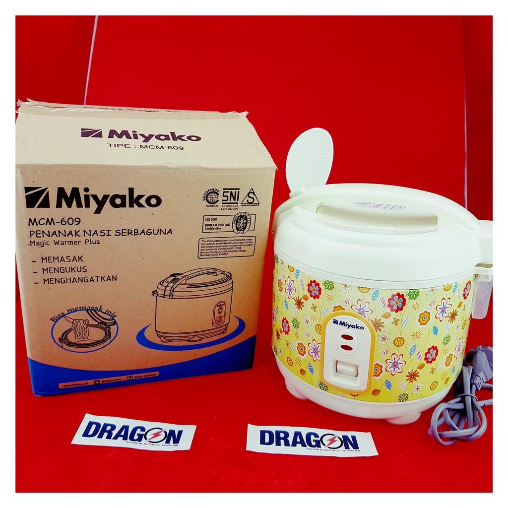 Miyako Rice Cooker 06 Liter Mcm 606 Shopee Indonesia A