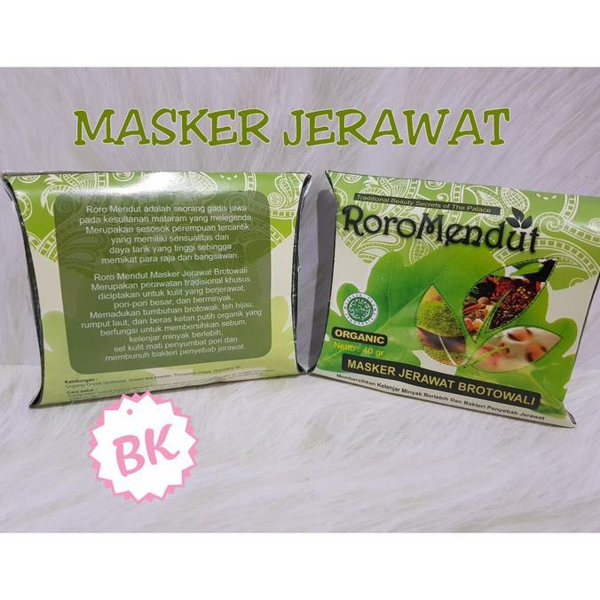 [ MASKER REMPAH HITAM ] BY RORO MENDUT / MENDHUT BPOM   Shopee Indonesia