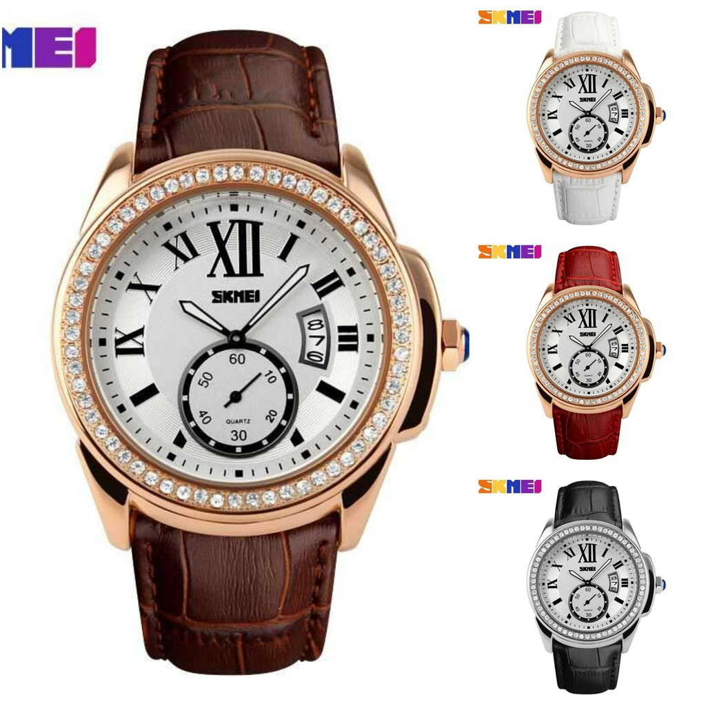 Fossil Es3988 Jacqueline White Dial Rosegold Blush Leather Strap Jam Tangan Wanita Original Es4052 Tailor Indigo Dyed Watch Shopee Indonesia