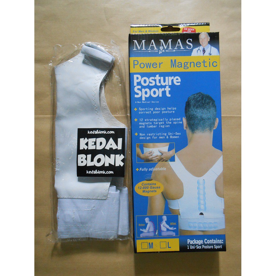 Power Magnetic Posture Support Shopee Indonesia Alat Penegak Punggung Sport
