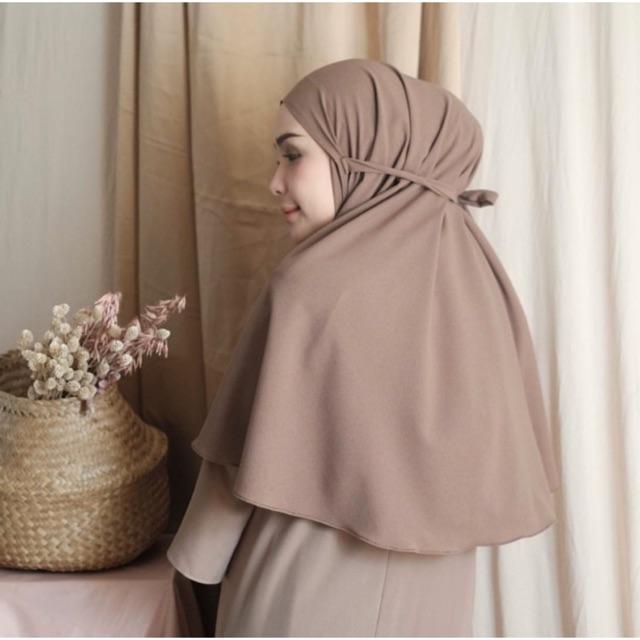 Hijab Bergo Maryam Diamond Italiano Diamore Grosir Shopee Indonesia