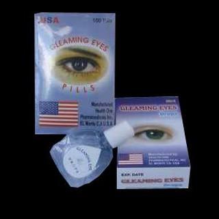 Gleaming Eyes Pil + Tetes Obat Mata Terlaris Mata Min Plus Katarak Sembuh Tanpa Operasi