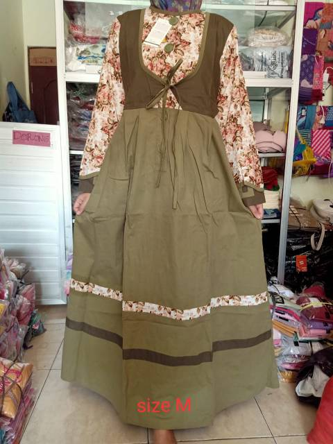 Gamis Sabrina Ala Tuneeca Recommended Banget Shopee Indonesia