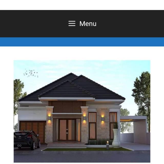 Desain Rumah Minimalis Modern | Shopee Indonesia