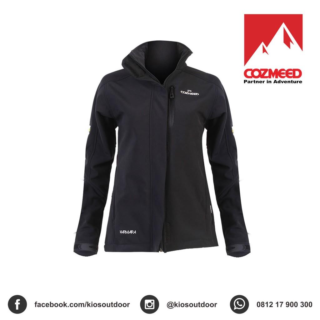 Jaket Reguler Cozmeed Softshell Wanita Marmara X Biru Shopee Indonesia Gunung Pria Arkana
