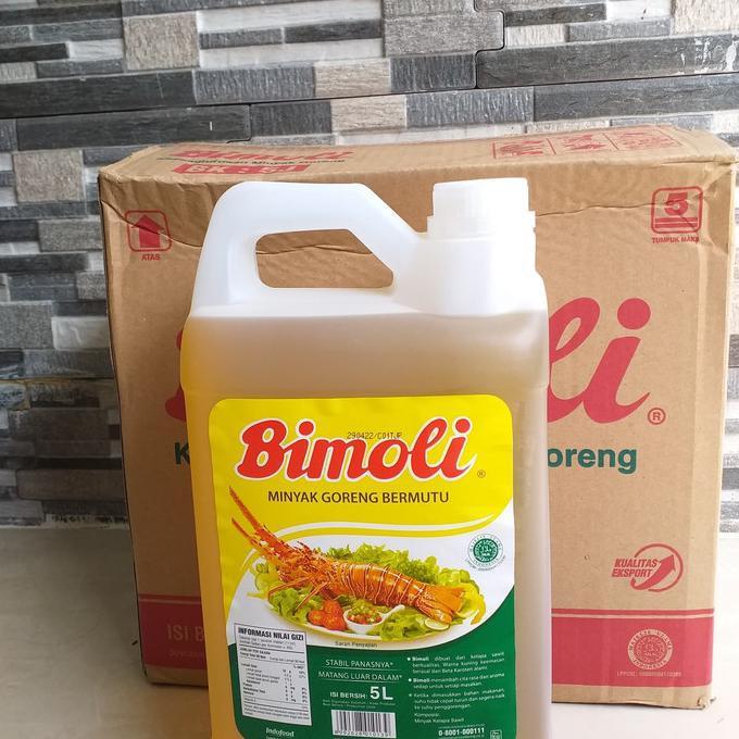 *Promo* Minyak Goreng Bimoli 5 Liter 1 Dus (Via Gojek)