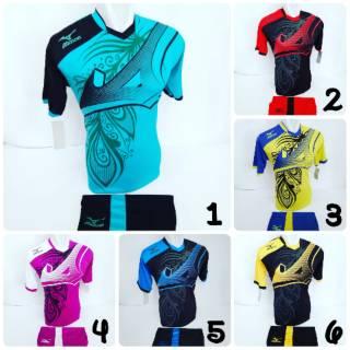 [ MZ 26 ] Baju Olahraga Jersey Sepak Bola Kaos Setelan Futsal / Volly / Voli