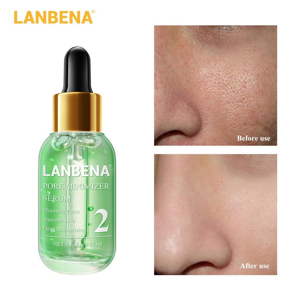 Lanbena Pore Minimizer Serum Pores Shrink Shopee Indonesia