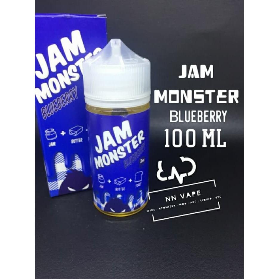 E Liquid Premium Jam Monster 100ml 3mg Shopee Indonesia Selai Blueberry By Jvs Vapor Vape