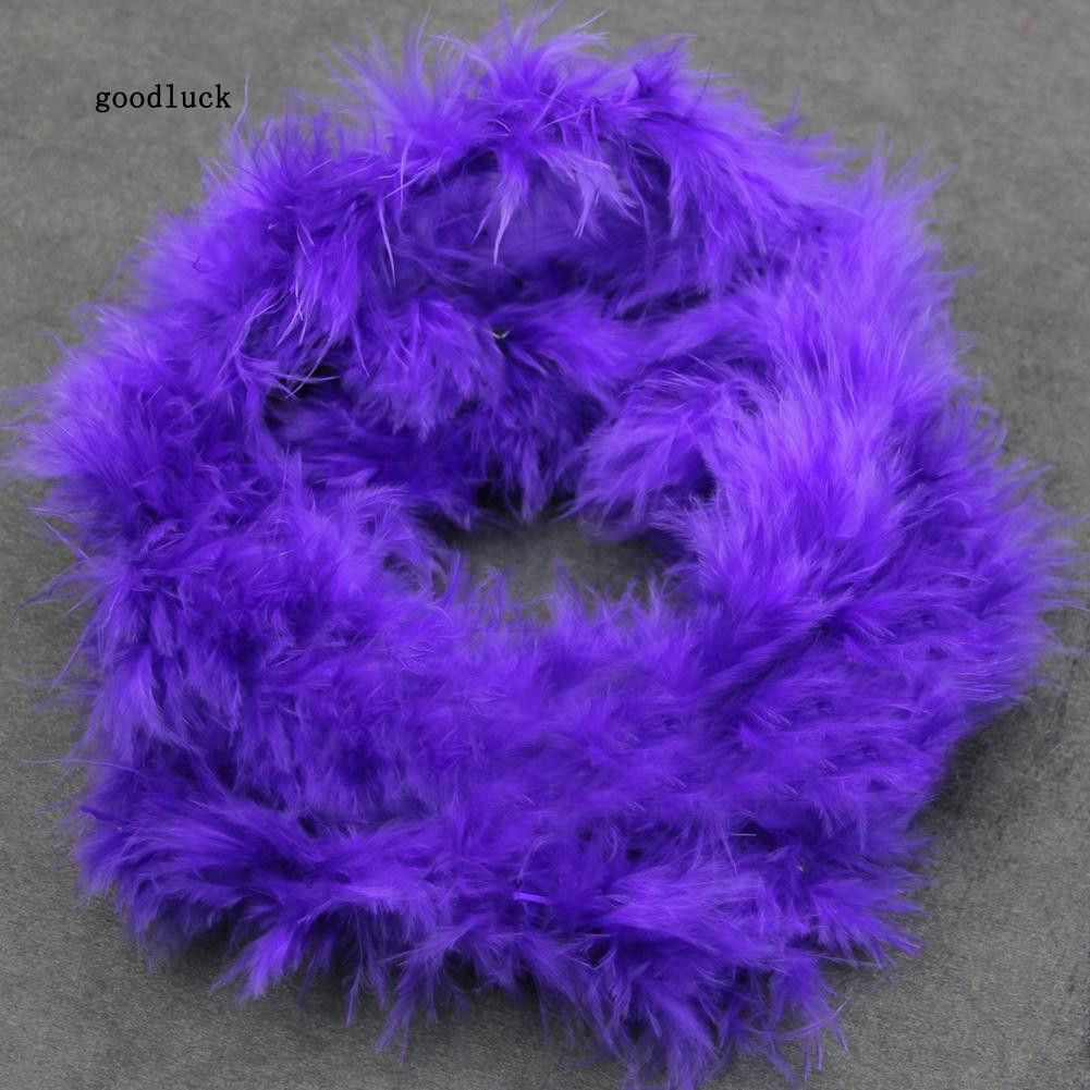 2M Fancy Wedding Party Decor Feather Boa Strip Fluffy Costume Night Dressup