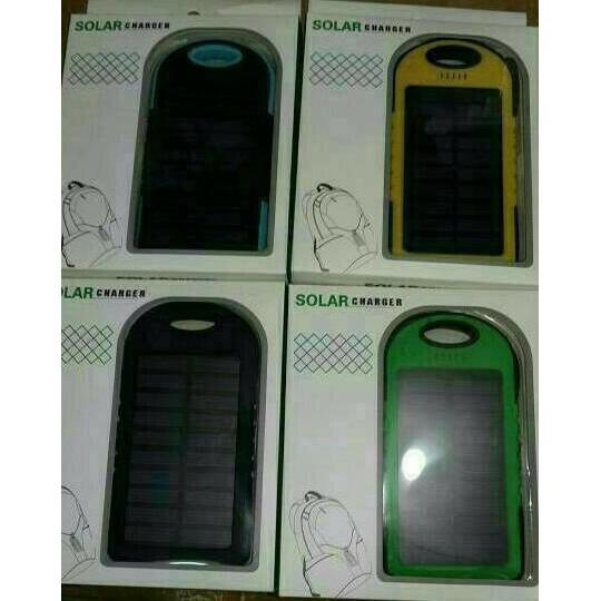 POWERBANK SOLAR CELL 188000mah/ POWER BANK SOLAR WITH LAMPU 12 LED / Powebank Travel Charger