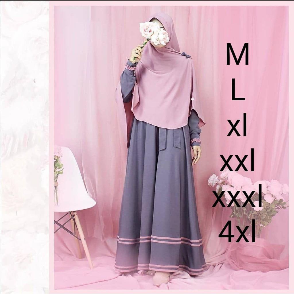 Harga Gamis Kekinian Terbaik Dress Muslim Fashion Muslim April 2021 Shopee Indonesia