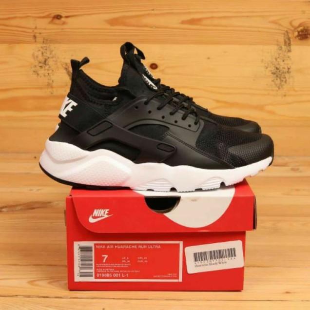 Nike Air Huarache Run Ultra Black White BNIB Import