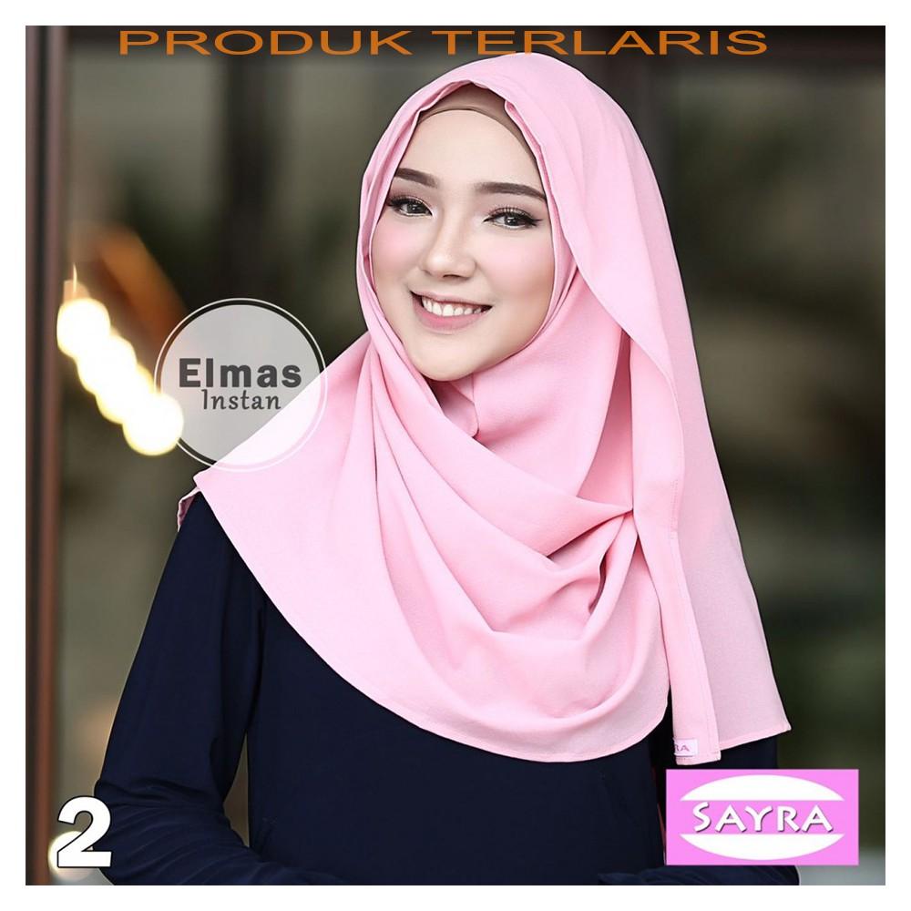 Up To 20 Discount Sanayahijab Hijab Instan Simple Pet Jilbab Syari Dalaman Anti Tembem
