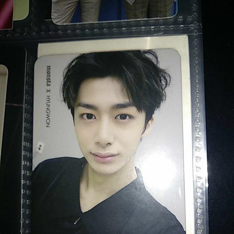 Pc Photocard Monsta X Hyungwon Shopee Indonesia