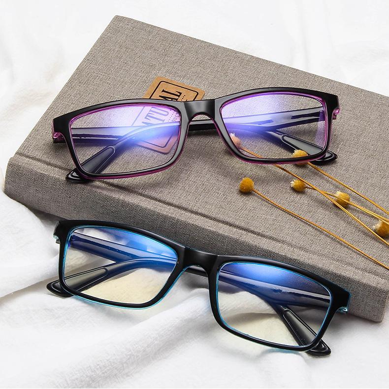 Frame kacamata Anti Radiasi Wanita Pria Cowok Korea ...