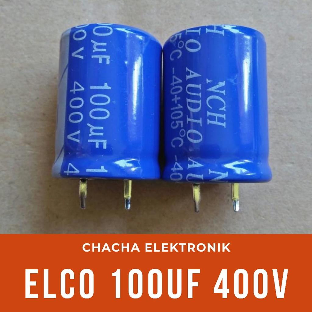 Capasitor Elco 100uf 400v C 100uf/400v
