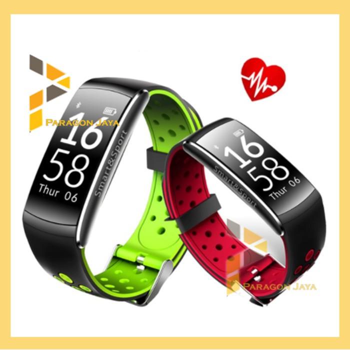 Model Baru Jam Tangan Pintar Bracelet Gelang S3 Smart Band Bkn Xiaomi Mi Band Full Black Grab | Shopee Indonesia