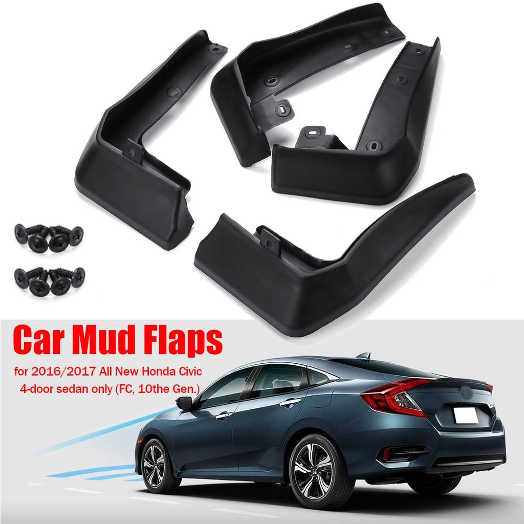 A-Premium Splash Guards Mud Flaps Mudflaps Honda Civic 2006-2011 Sedan