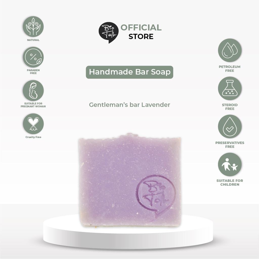 BioTalk Sabun Shampoo Natural Herbal | Gentleman's Bar Shampoo Soap | Kulit Normal |120 gram-3