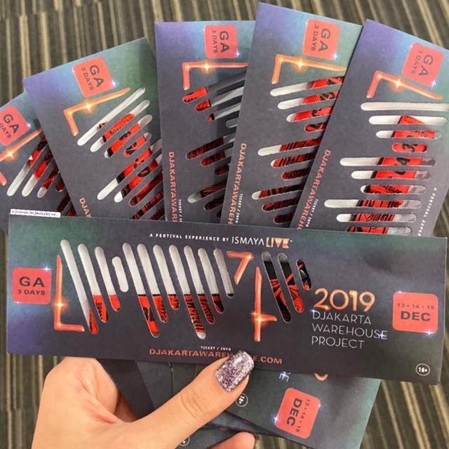 Tiket Dwp 2019 Shopee Indonesia