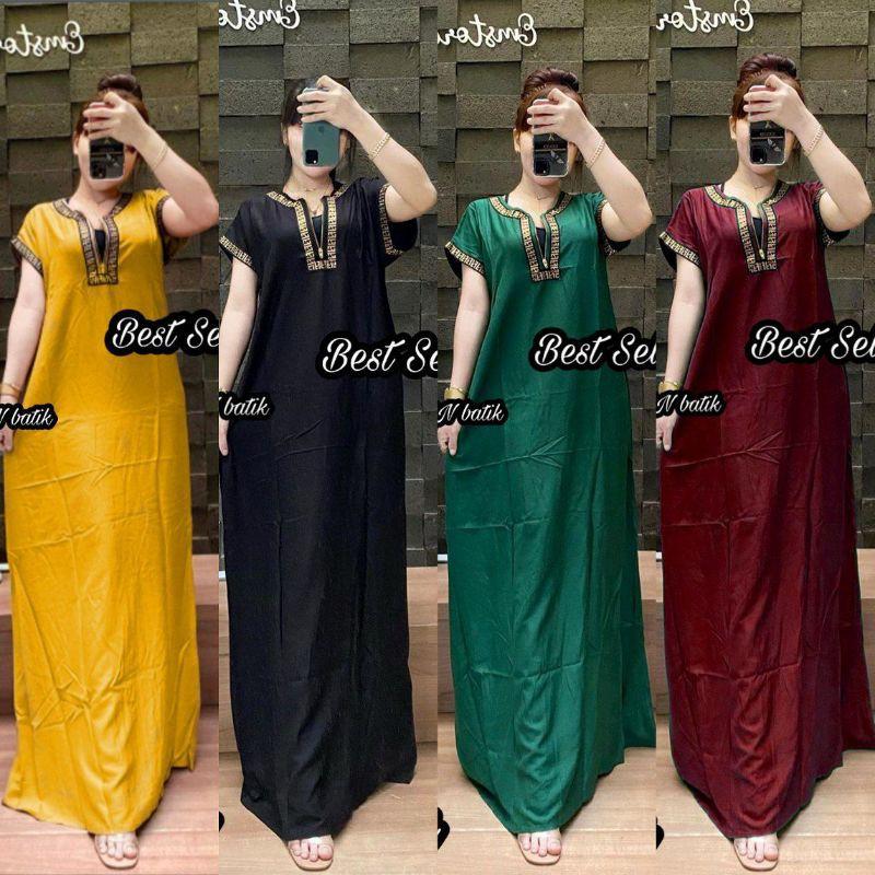 DASTER ARAB LENGAN PENDEK REKOMENDASI / DRESS BUSUI PANJANG