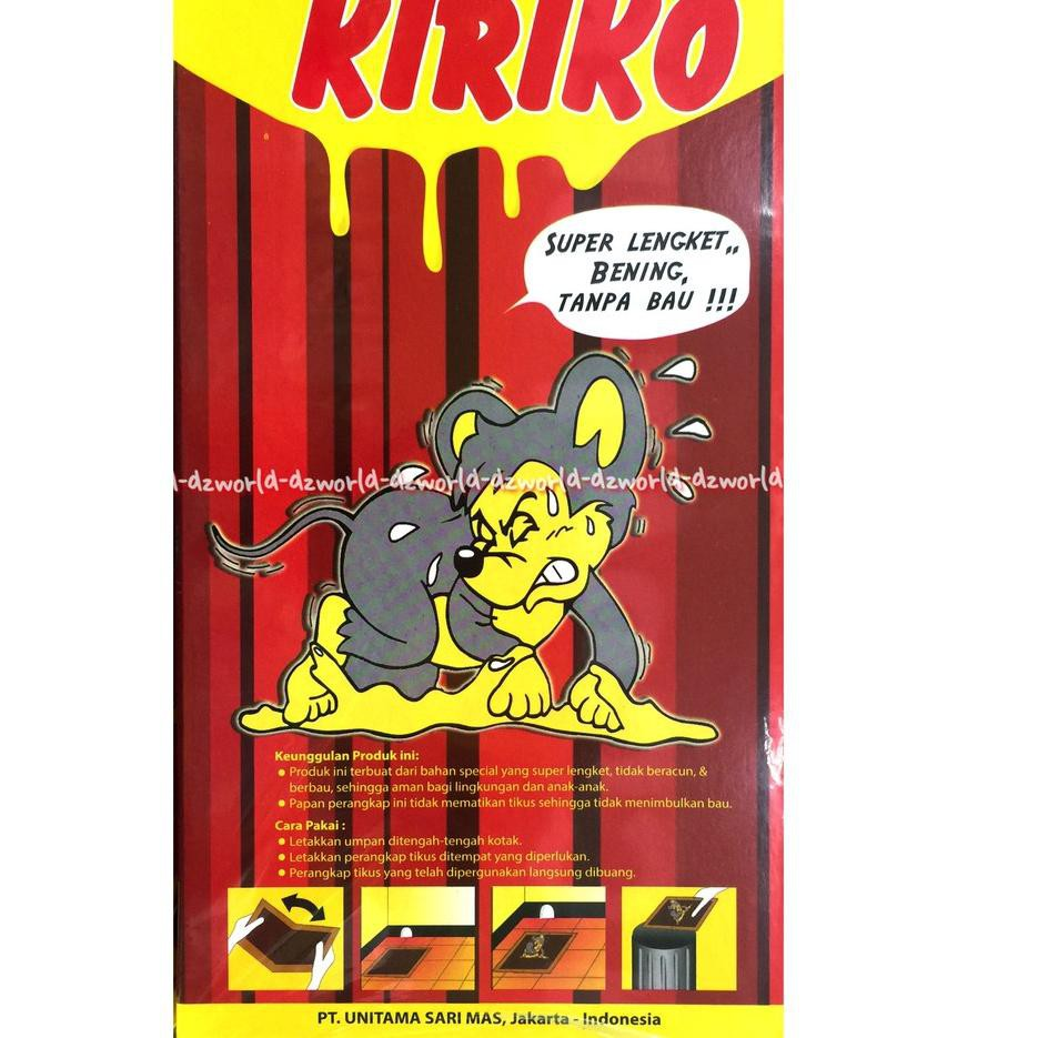 Kiriko Lem Perangkap Tikus Super Lengket Lem Tikus 1 Lembar Shopee Indonesia