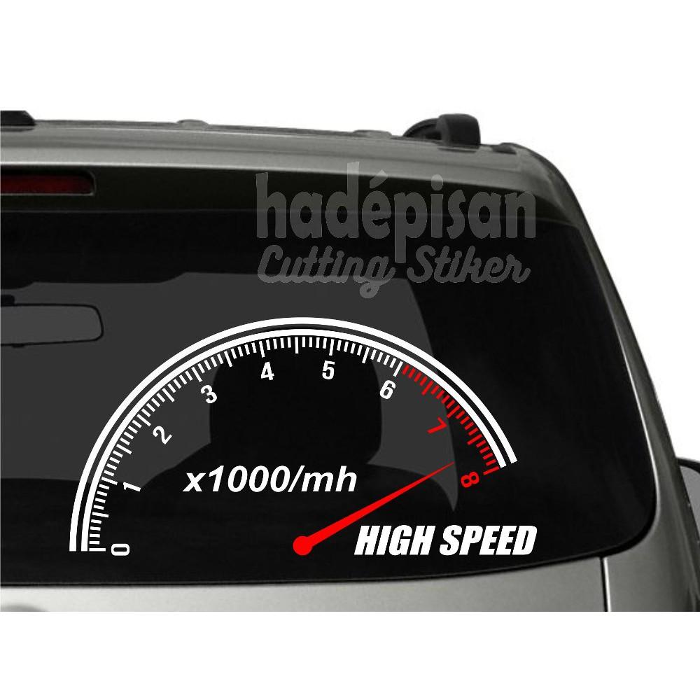 Sticker cutting stiker mobil kap kaca rpm spedometer shopee indonesia