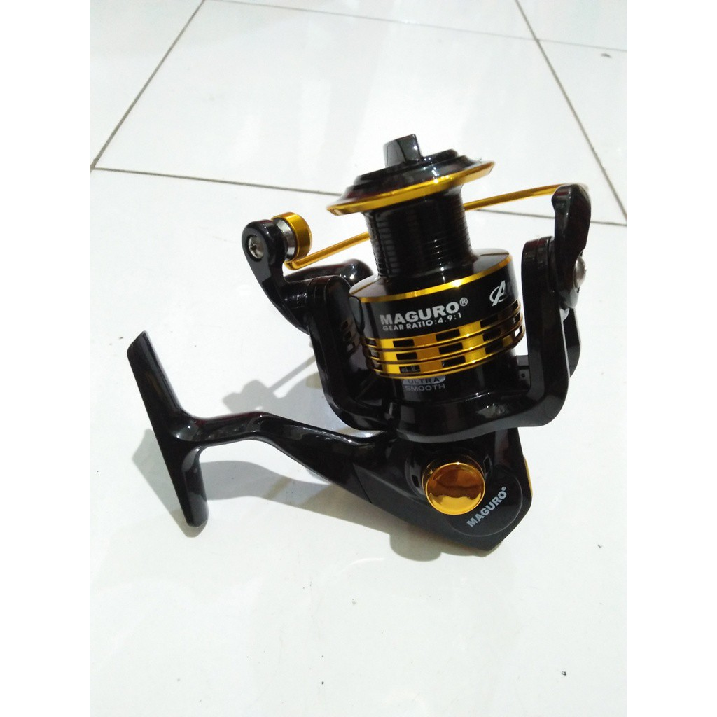 Wow Reel Ryobi Zauber Ll 4000 Metal Body Spinning Murah Daido Boxter Dbs Shopee Indonesia