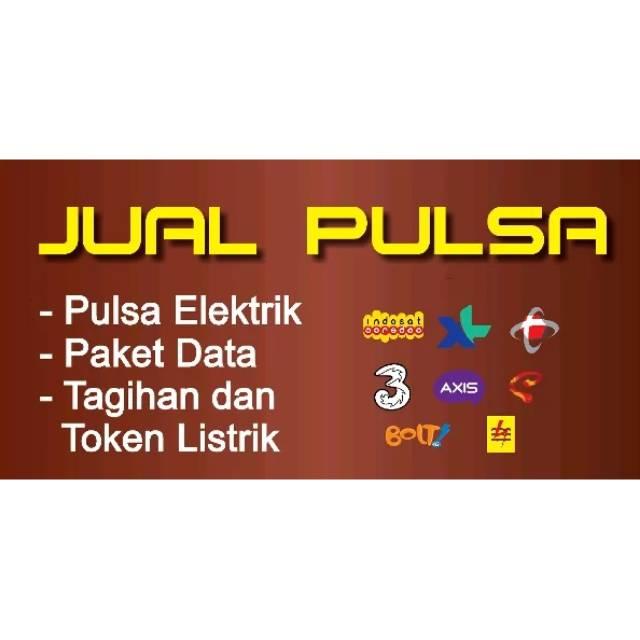 20+ Latest Spanduk Jual Pulsa Telkomsel