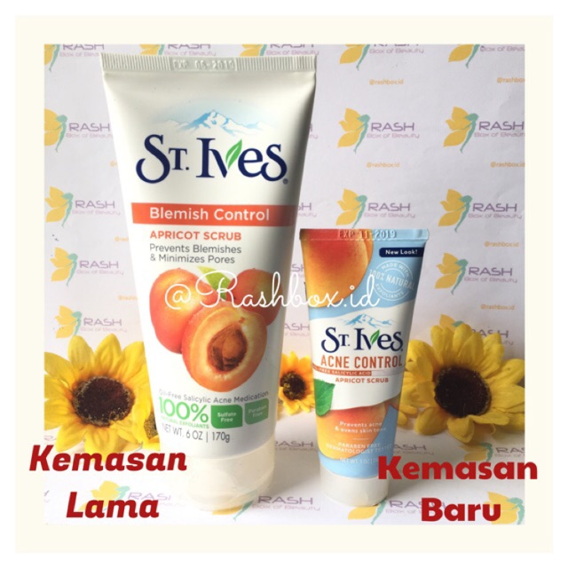 [SHARE IN JAR] ST IVES BLEMISH CONTROL - APRICOT SCRUB | Shopee Indonesia